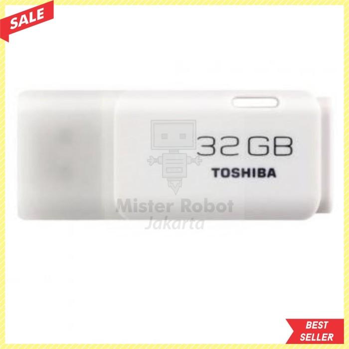 Flashdisk Toshiba / Flash Disk Toshiba 32 GB Hayabusa Original - Putih