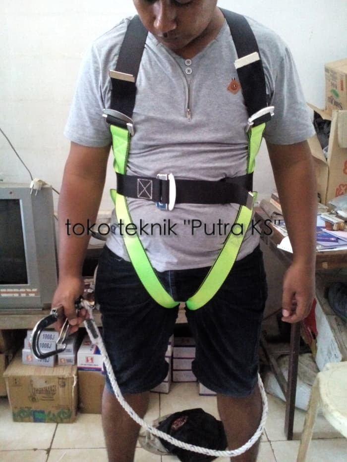 Info Safety Belt Full Body Harness Hargano.com