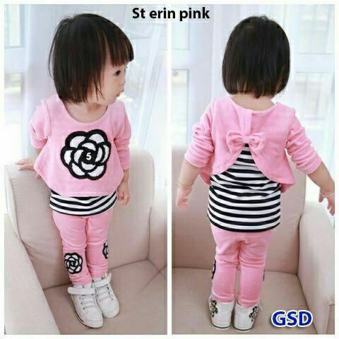 ... harga Set erin kid baju anak cewek baju setelan anak perempuan terbaru Tokopedia.com