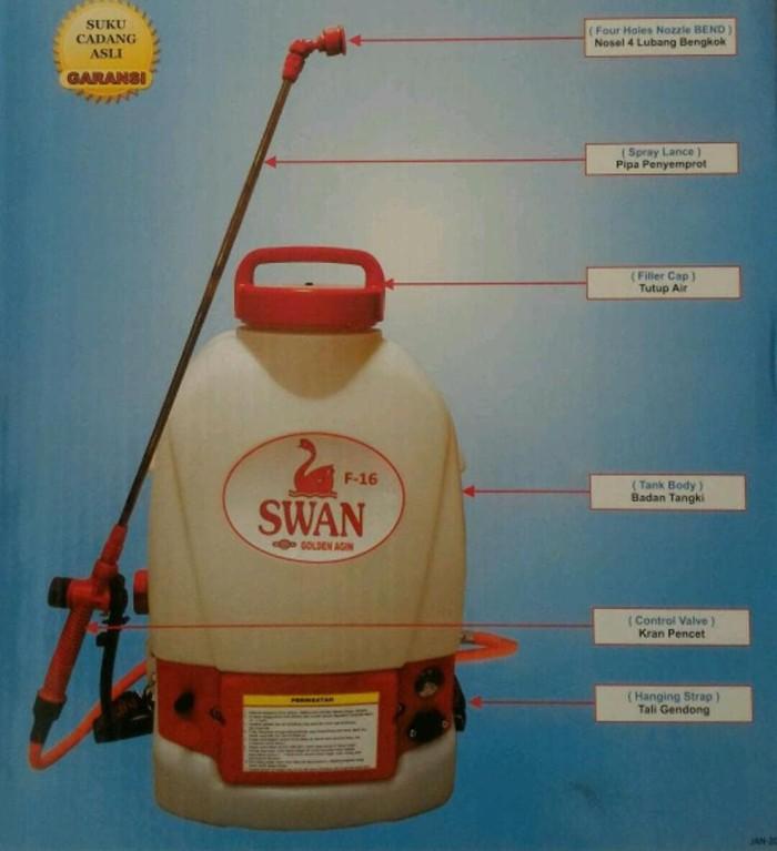 Alat Semprot Hama Sprayer Elektrik Battery Sprayer Swan F 16