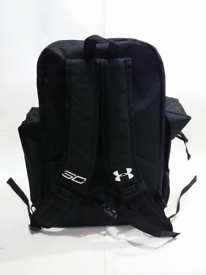 f8f93ef5da Jual Tas Fitness Gym Bag Under Armour Stephen Curry Black - Kota ...