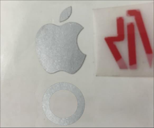 stiker logo Apple iPhone 6 s plus 7 home button keren berkualitas