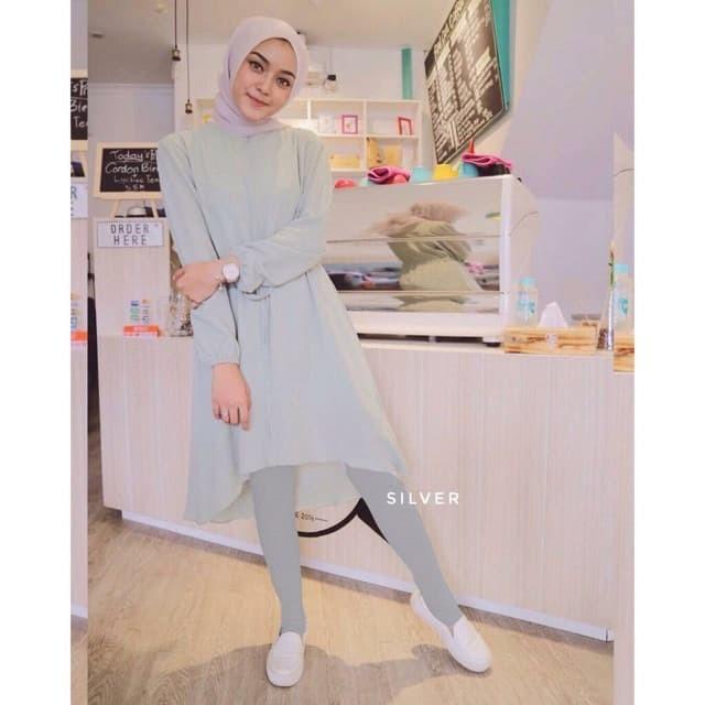 Jual Legging Wudhu Stocking Hijab Kota Tangerang Selatan Toko Satu Fashion Muslim Tokopedia