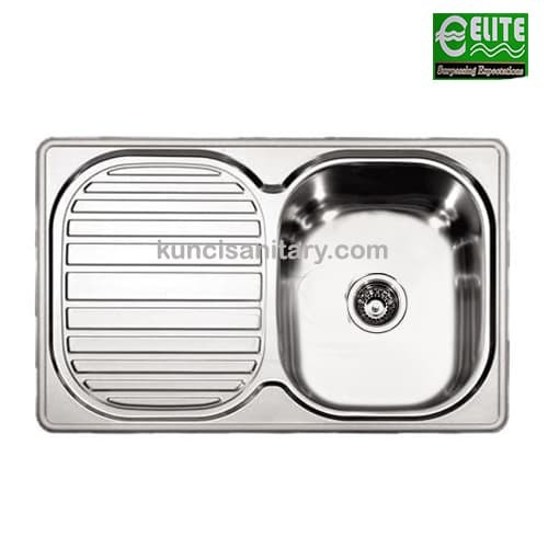 Jual Kitchen Sink ELITE Type E176 - kuncirumah | Tokopedia on elite lighting, elite landscaping, elite toys, elite showers and bathrooms,