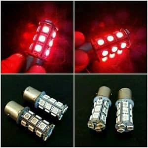 harga Lampu rem led / stop lamp strobo flash kedip 18 smd motor mobil - 2pcs Tokopedia.com