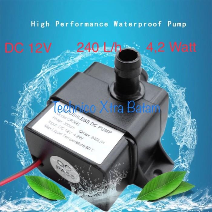 harga Mini submersible water pump motor pompa air celup dc 12v 240 l/h 4,2w Tokopedia.com