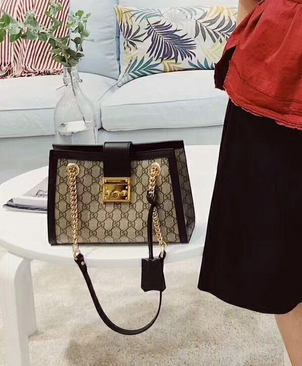 c1d91bb09 Jual Gucci Padlock small GG shoulder bag Authentic mirror quality ...