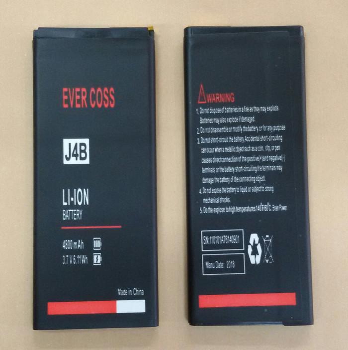 Batre / Batrai / Battery / Baterai EverCoss J4B / JUMP T3 Lite
