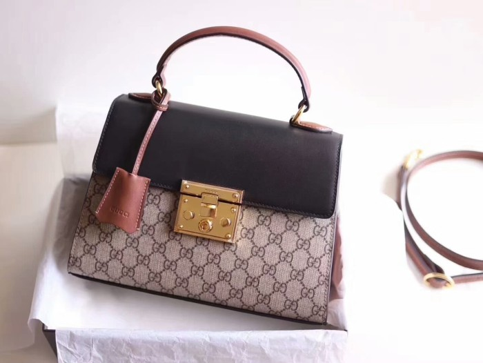 81d392689 Jual Gucci Padlock small GG top handle bag Authentic mirror quality ...