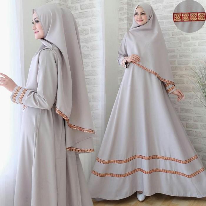 Jual Model Baju Muslim Gamis Terbaru Dan Modern Hayra Syar I Kab Bekasi Triandrafashion Tokopedia