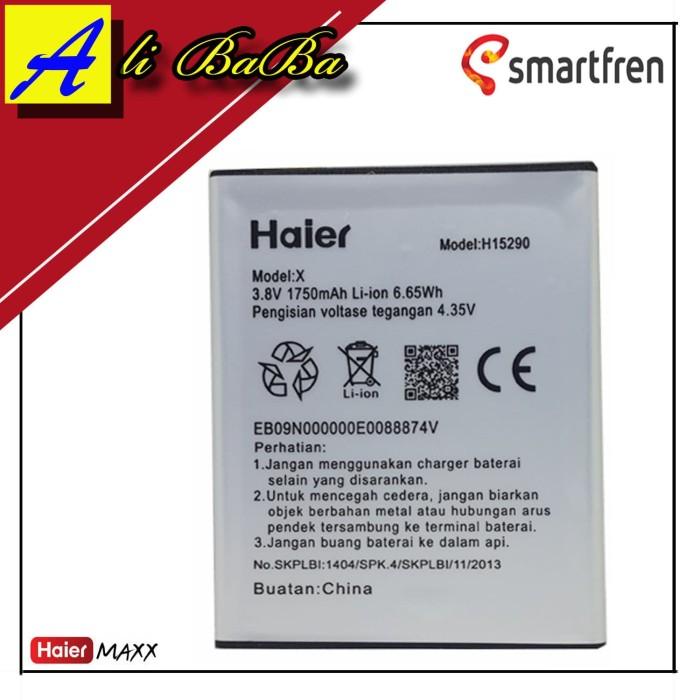 harga Baterai handphone smarfren haier maxx h15290 original battery hp haier Tokopedia.com