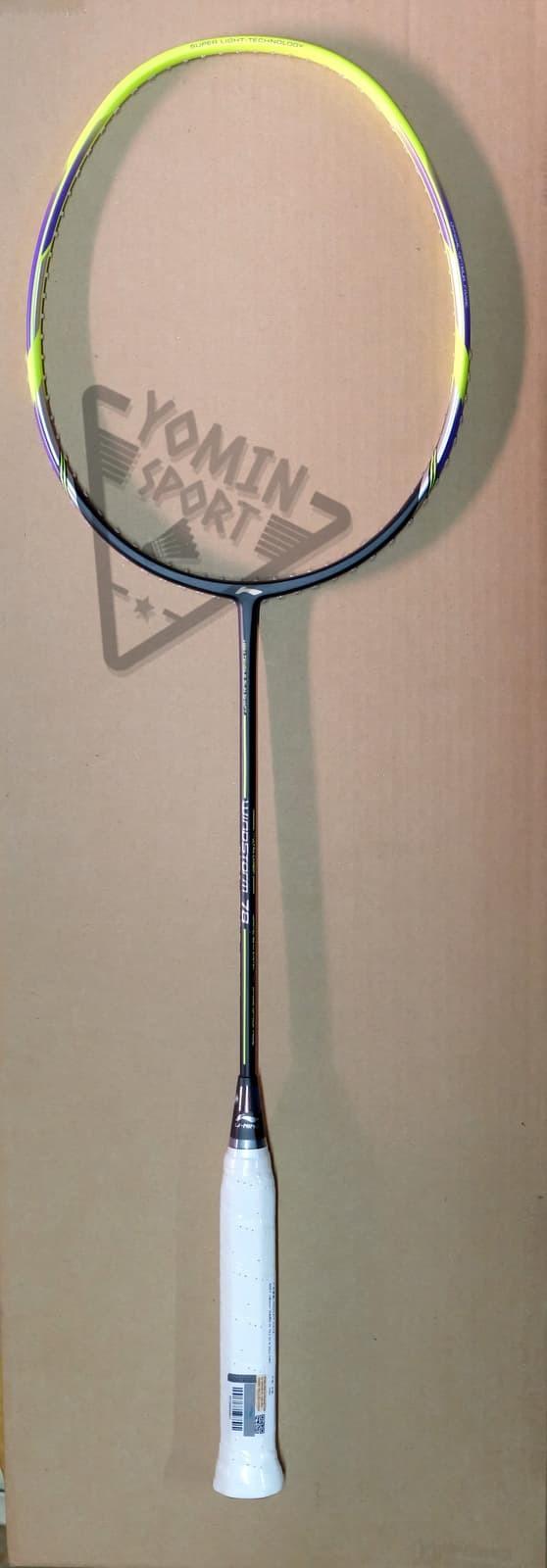 harga Raket badminton windstorm 78 ( black / lime ) Tokopedia.com