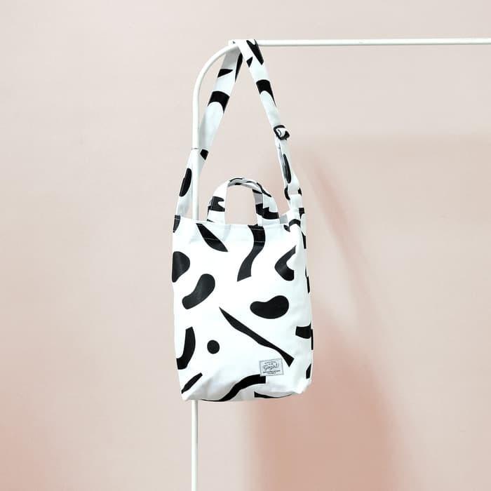 Canvas bag (free serene product) - putih