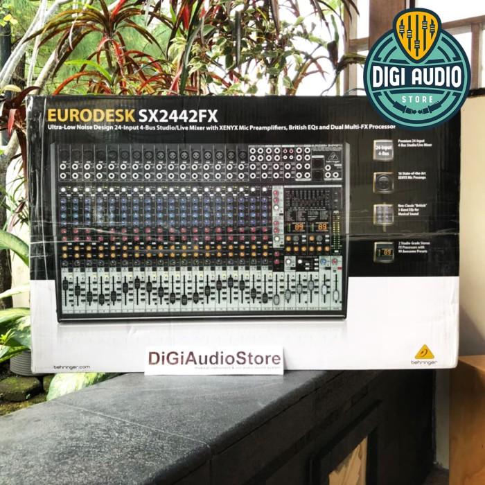 harga Audio mixer behringer sx2442fx / sx 2442 fx analog mixer with effect Tokopedia.com