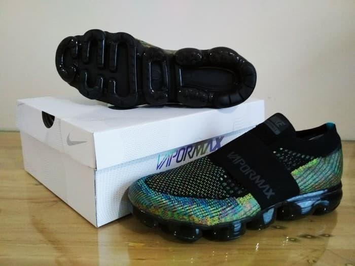 Jual Premium Sneakers Sepatu Nike Air Max Vapormax Strap Multicolor