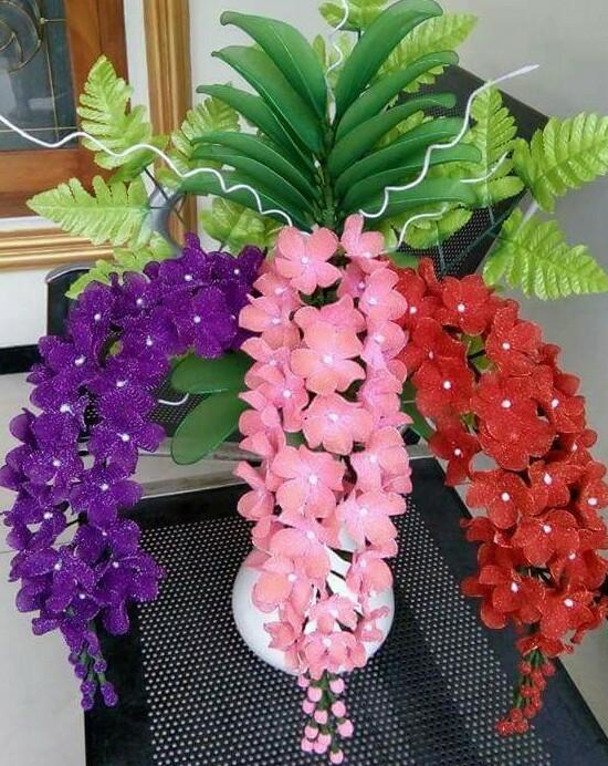 Jual Bunga Stoking Mawar Gliter Dan Polos Dan Berbagai Macam Jenis Anggrek Kab Pemalang Dubai Azahra Tokopedia