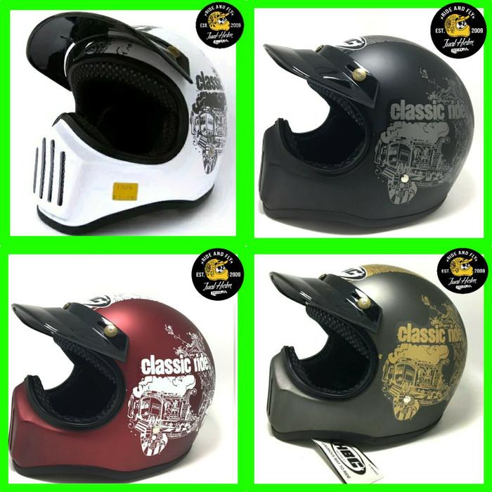 Helm Cakil HBC Visor Classic Ride 3