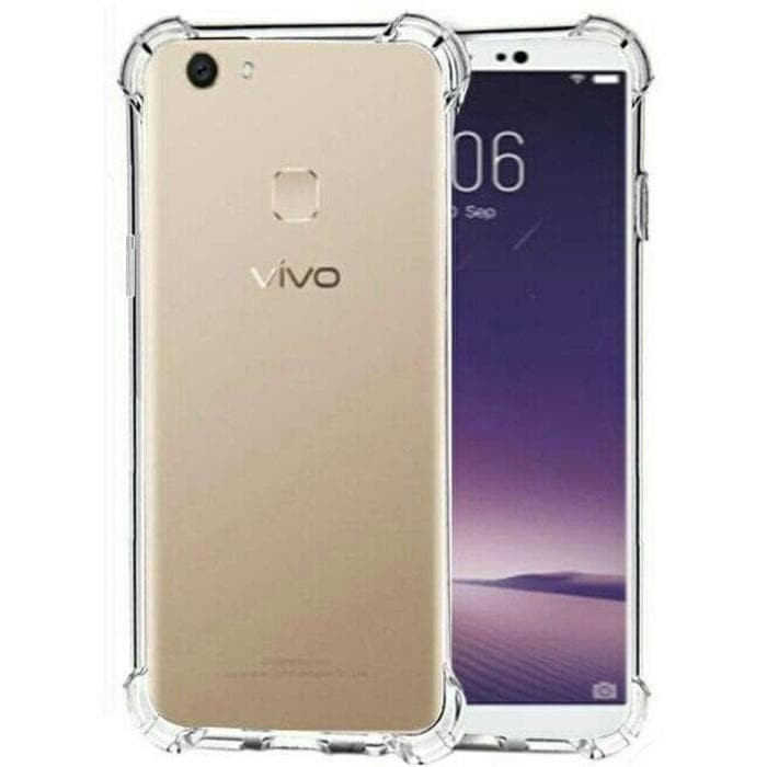 Case Anti Crack For Vivo V7+ New / V7 Plus / Bahan Mika Transparan