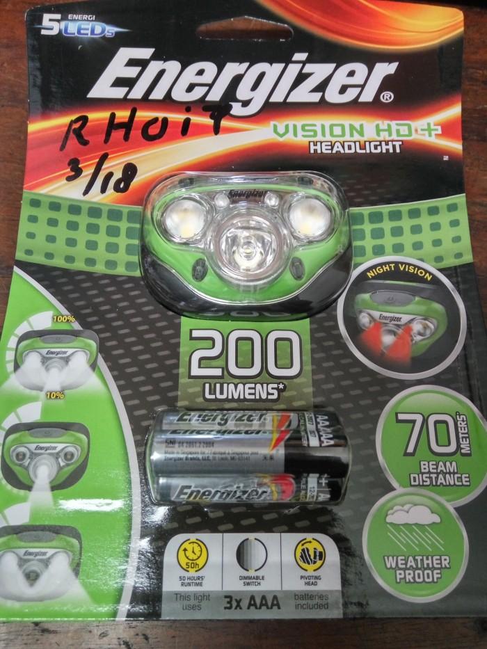 harga Headlamp energizer 6 led | senter kepala energizer 6 led | headlight Tokopedia.com