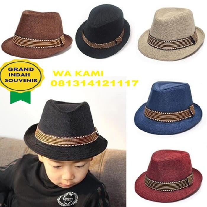 Jual topi fedora anak-topi fedora-topi pesta-topi jazz-topi tompi ... 1f1019bed1