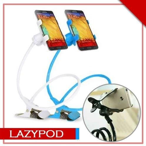 lazy pod lazypod jepitan narsis jepsis flexible holder for smartphone
