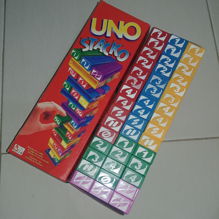 Uno Stacko Mainan Anak Balok Mainan Susun Gratis Ongkir Garansi Real ... 37fd35c291
