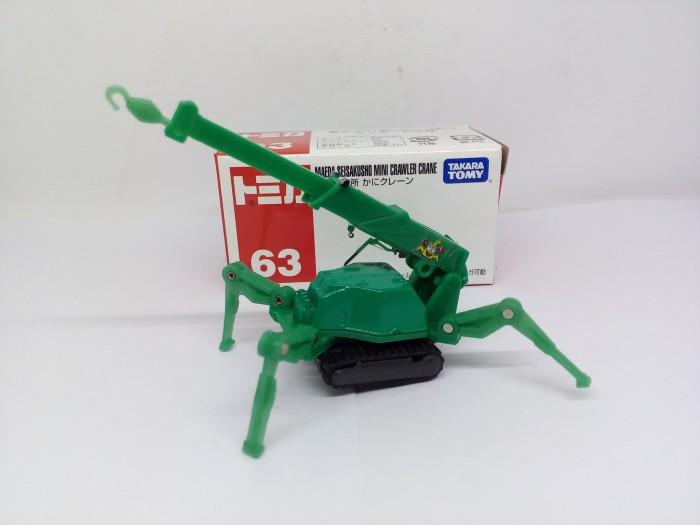harga Tomica reguler #63 maeda seisakusho mini crawler crane takara tomy Tokopedia.com