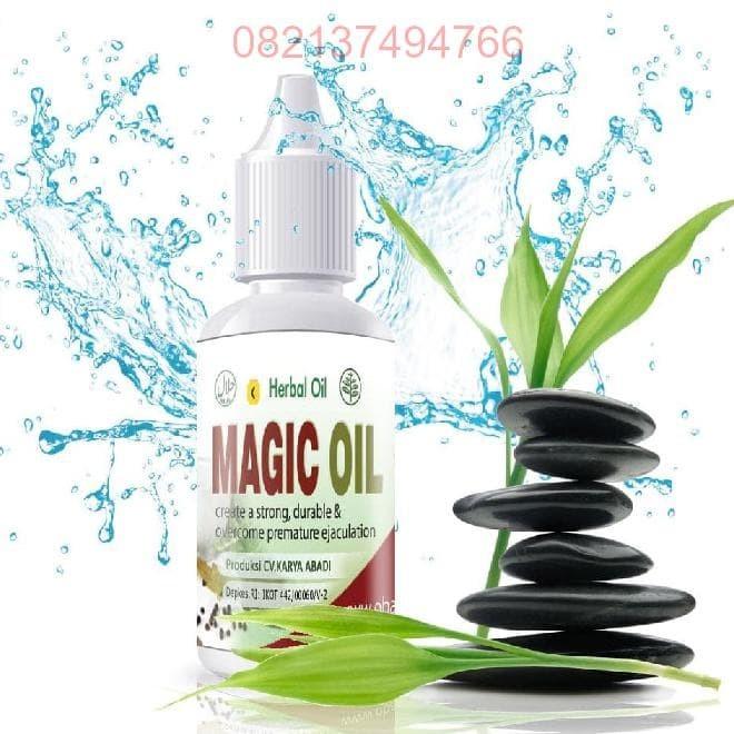 MAGIC OIL - Obat Herbal Kuat Oles Mengobati Impotensi