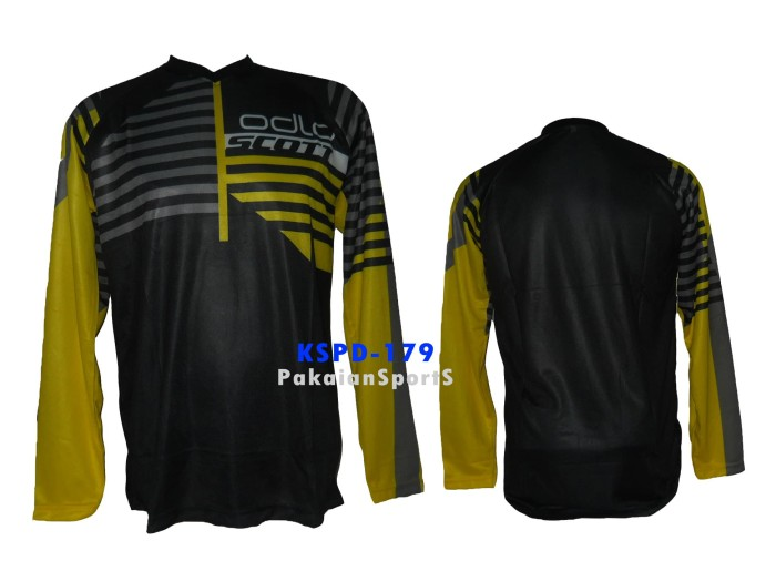 ... harga Baju jersey sepeda - motocross lengan panjang scott kode kspd-179 Tokopedia.com