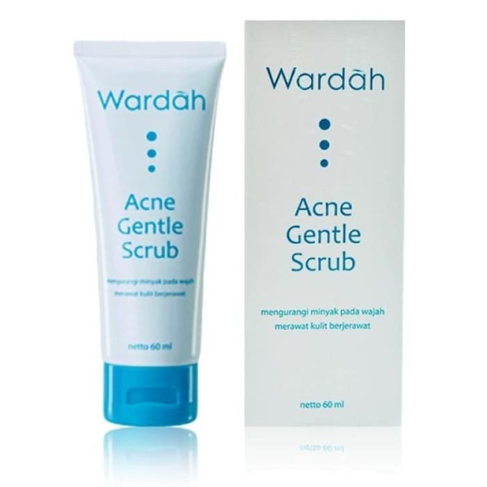 Wardah Acne Gentle Scrub - Sabun Wajah Jerawat