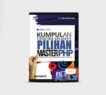 Foto Produk DVD Tutorial Tips Dan Trik Aplikatif Master PHP dari Ilmuwebsite