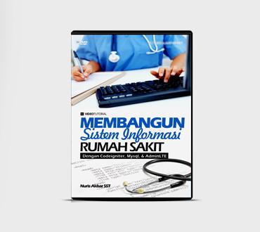 Foto Produk DVD Bangun Sistem Informasi Rumah Sakit Dengan Codeigniter MySQL AJax dari Ilmuwebsite