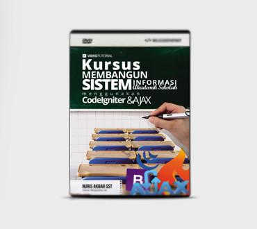 Foto Produk DVD Bangun Sistem Informasi Akademik Sekolah Dengan Codeigniter Ajax dari Ilmuwebsite