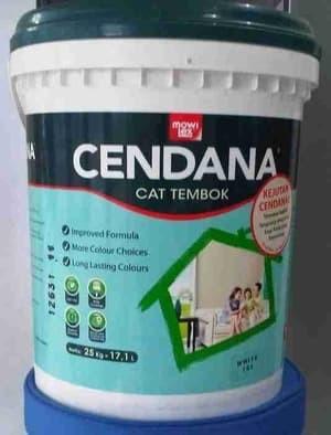 harga Cat tembok mowilex cendana putih (5 kg) Tokopedia.com