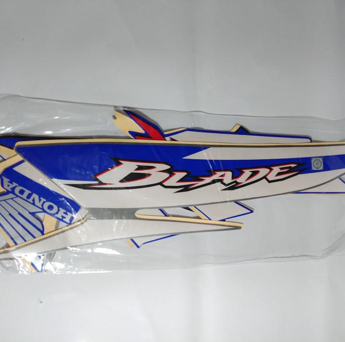 harga Striping lis bodi & stiker body blade 2009 biru Tokopedia.com