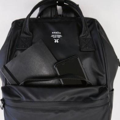 Termurah !! Anello Tas Ransel Waterproof Backpack 2 Way Pria Wanita - Hitam 83662cc58a