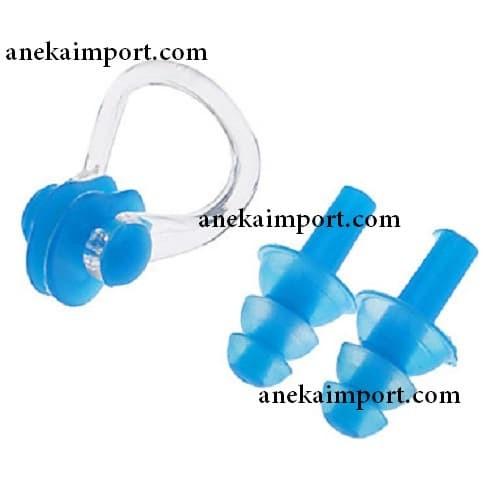harga Earplug / ear plug renang / penutup telinga & hidung renang Tokopedia.com