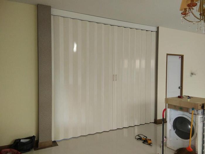 Jual Penyekat ruangan PVC - Pintu Lipat PVC - Folding Door