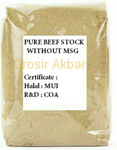 harga Ready kaldu sapi non msg 1kg halal / halal beef extract powder Tokopedia.com