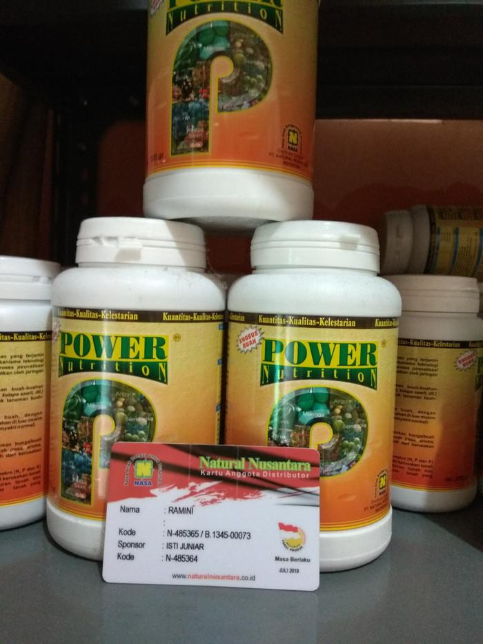 POWER NUTRITION 500GR PUPUK ORGANIK MERANGSANG PEMBUAHAN NASA JAKARTA