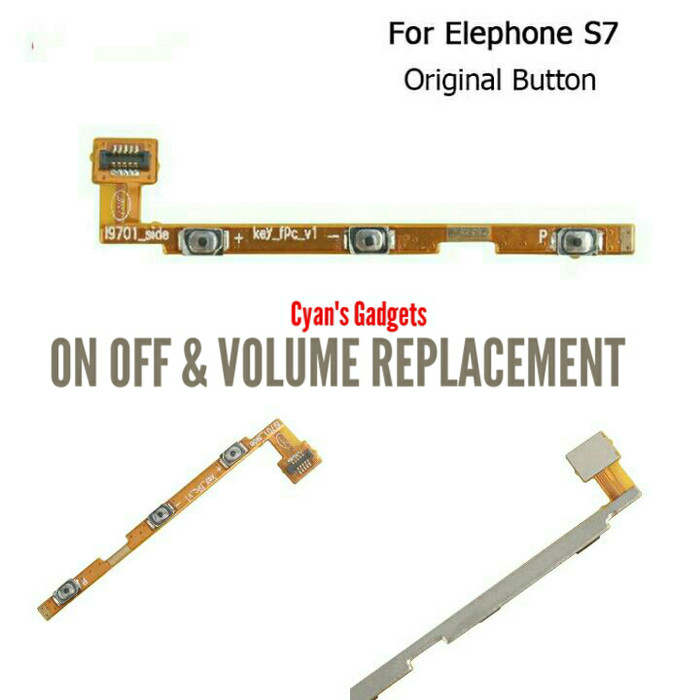 harga Elephone s7 tombol button power on off replacement Tokopedia.com