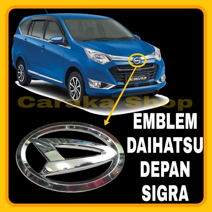 Foto Produk Logo Lambang DAIHATSU Depan SIGRA Emblem Pengganti Logo Daihatsu Depan dari Caraka Shop