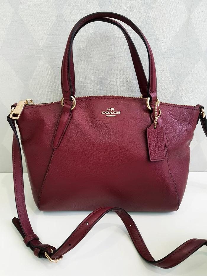 f715367736ad Jual Coach kelsey mini crimson - Dewi s Branded Bags