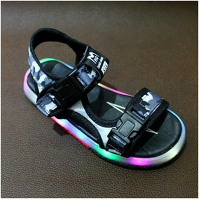 harga Sandal sepatu lampu anak cowok cewek import branded army slim lamp boy Tokopedia.com