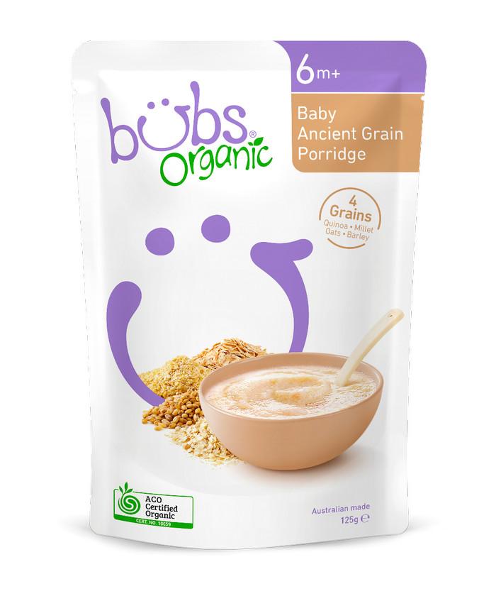 harga Bubur bayi bubs organic ancient grain porridge 6+ months australia Tokopedia.com
