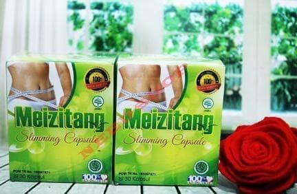 Dijual Meizitang Slimming Capsule Bpom Isi 30 Kapsul Murah