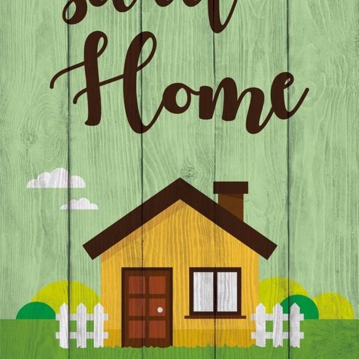hiasan pajangan dinding ISTIMEWA solid home sweet home