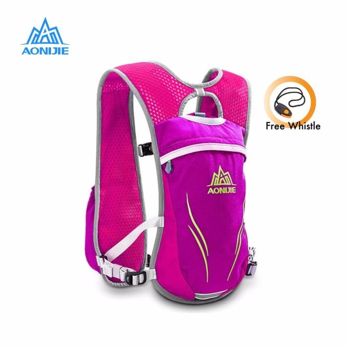 Jual Aonijie Hydration Backpack E885 – Trail Marathon Running – Rose Red Harga Promo Terbaru