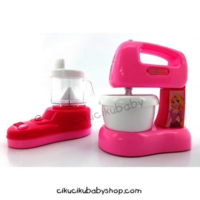 Jual Disney Princess Kitchen Set Mixer Juicer Mainan Anak Kota Bandung Miraclecraft Tokopedia