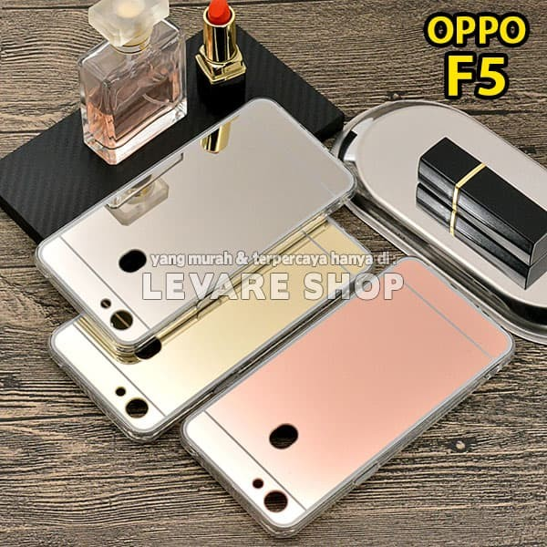 huge discount 1e1d0 bfbd7 Jual Softcase Silicone Mirror Case - Soft Case Casing OPPO F5 / F5 YOUTH -  Kota Bekasi - Levare Shop | Tokopedia